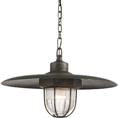 Acme LED Schoolhouse Pendant Size: Small