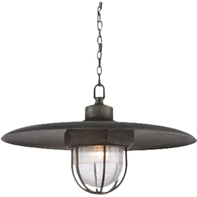 Acme LED Schoolhouse Pendant Size: Large