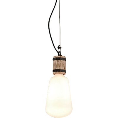 Holford 1-Light Mini Pendant Size: Small
