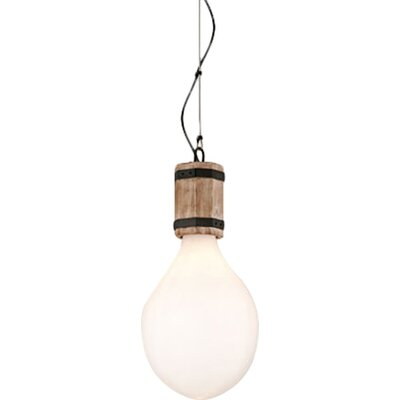 Holford 1-Light Mini Pendant Size: Large
