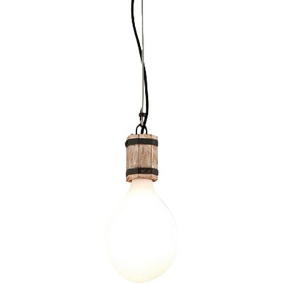 Fulton 1-Light Mini Pendant Size: Small