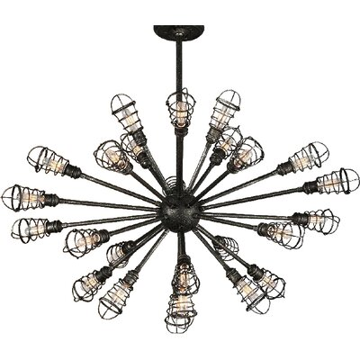 Conduit 24-Light Sputnik Chandelier