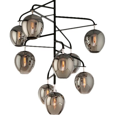 Satchell 9-Light Cascade Pendant