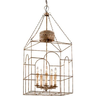 Jasper 5-Light Foyer Pendant