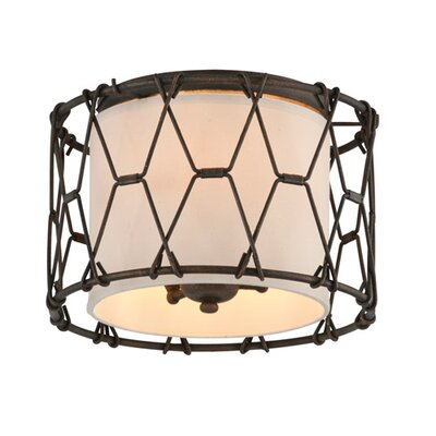 Greenwald 3-Light Flush Mount