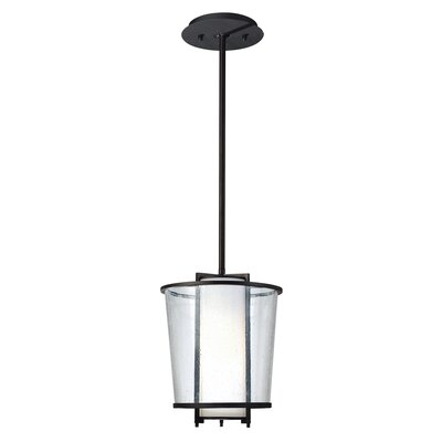 Borrelli 1-Light Foyer Pendant Size: 61.5 H x 9.75 W x 9.75 D