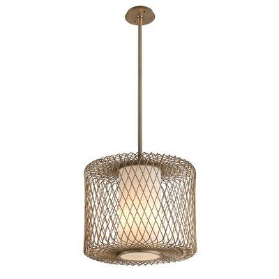 Hideaway 1-Light Drum Pendant Size: 66.25 H x 20.5 W x 20.5 D