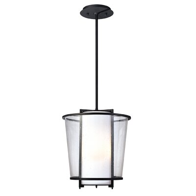 Bennington 1-Light Foyer Pendant Size: 65 H x 13.5 W x 13.5 D