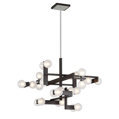 Network 24-Light Sputnik Chandelier