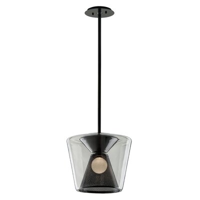 Berlin 1-Light LED Mini Pendant Size: 13.75 H x 15.5 W x 15.5 D