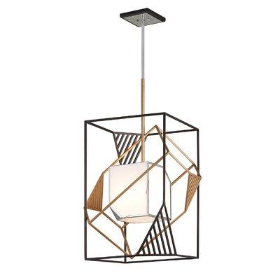 Cubist 1-Light Foyer Pendant