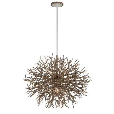 Sierra 6-Light Geometric Pendant