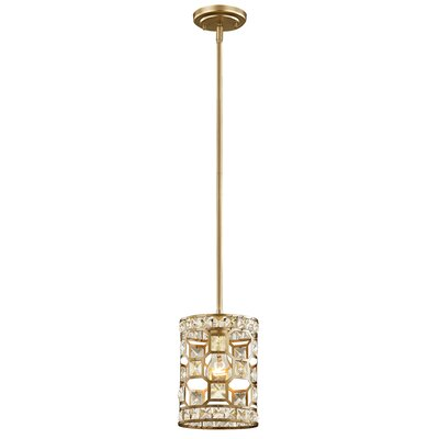 Rigoberto 1-Light Crystal Pendant