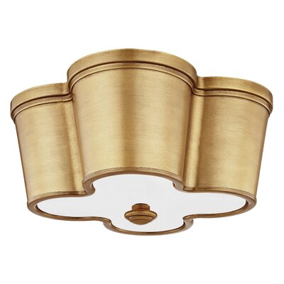 Destan Framed 2-Light Flush Mount