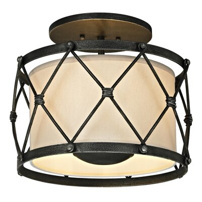 Palisade 3-Light Semi Flush Mount