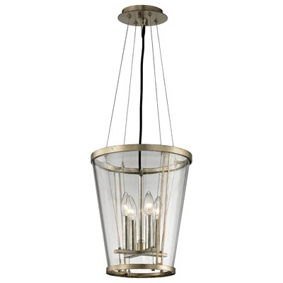 Trapeze 4-Light Foyer Pendant