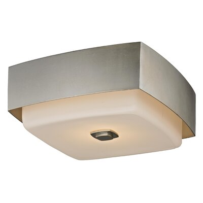 Allure 2-Light Flush Mount Finish: Silver Leaf
