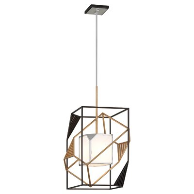 Cubist 1-Light Foyer Pendant