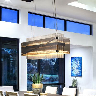 Apollo 12-Light Kitchen Island Pendant