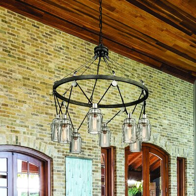Citizen 8-Light Foyer Pendant