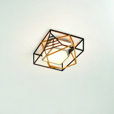 Cubist 1-Light LED Flush Mount