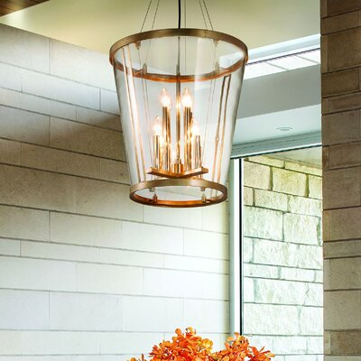 Trapeze 8-Light Foyer Pendant