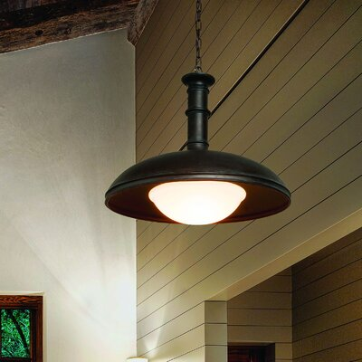 Brewery 1-Light Inverted Pendant Size: 22 H x 26 W x 26 D
