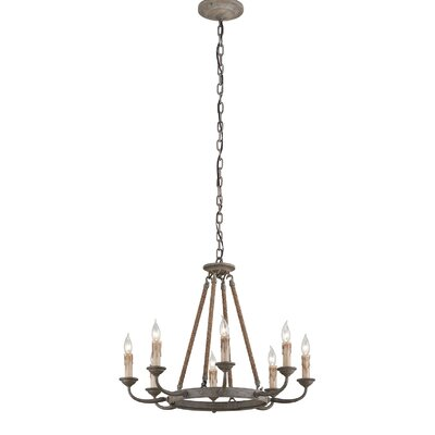 Cyrano 8-Light Candle-Style Chandelier