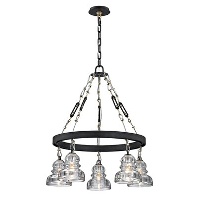 Demartini 5-Light Candle-Style Chandelier