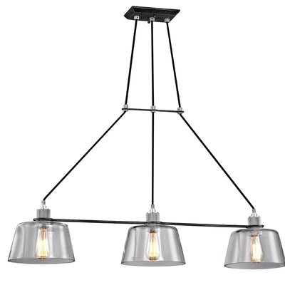 Audiophile 3-Light Kitchen Island Pendant