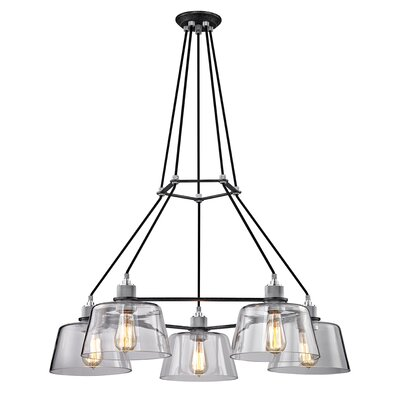 Audiophile 5-Light Cluster Pendant