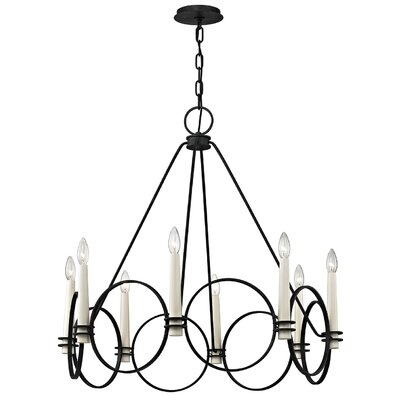 Margarito 8-Light Candle-Style Chandelier
