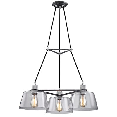 Audiophile 3-Light Cluster Pendant
