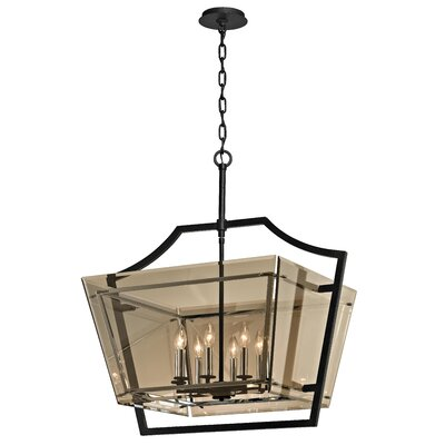 Alise Modern 8-Light Foyer Pendant