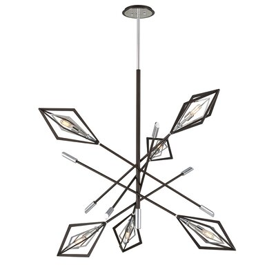 Angulo 6-Light Geometric Pendant