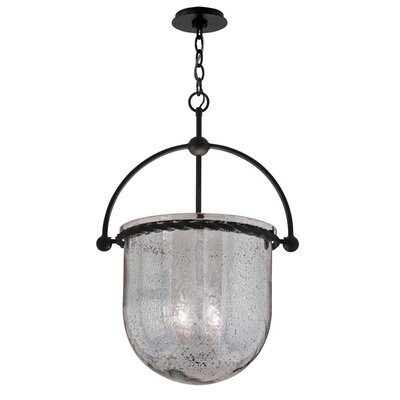 Pinnock Glass 4-Light Foyer Pendant