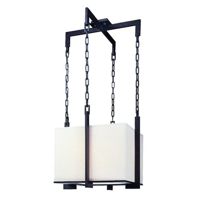 Trumbauer 3-Light Drum Foyer Pendant Size: 14.25 H x 15.5 W x 15.5 D