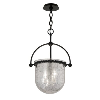 3-Light Mercury Foyer Pendant Size: 21.5 H x 14 W x 11 D