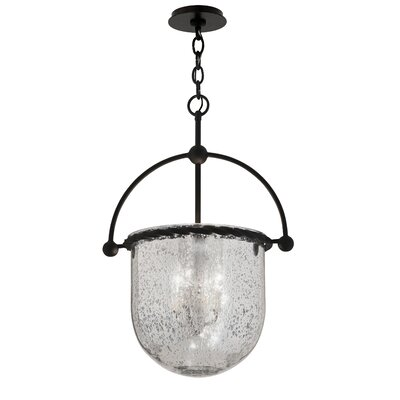 Pinnock 3-Light Foyer Pendant Size: 25 H x 17 W x 13.5 D