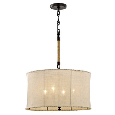 Elswick 4-Light Drum Pendant