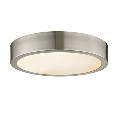 Magruder Disc LED Flush Mount Size: 2 H x 11.25 W x 11.25 D