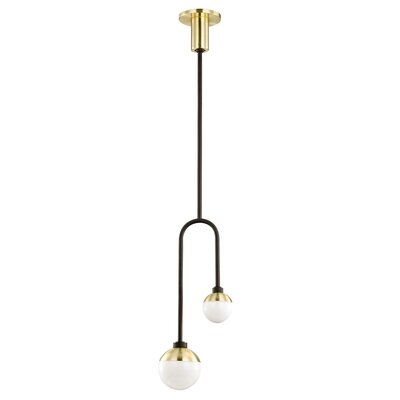 Chretien 2-Light Globe Pendant