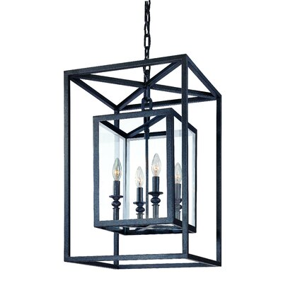 Tennille 4-Light Medium Foyer Pendant