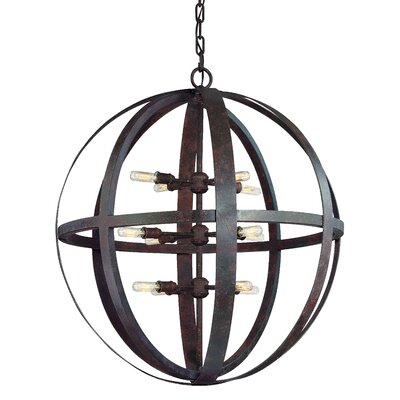 Flatiron 12-Light Foyer Pendant