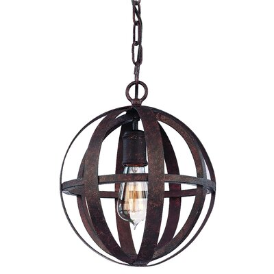 Flatiron 1-Light Small Pendant