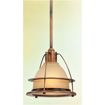 Bristol Bay 1-Light Pendant Size: 10 H x 10.25 W