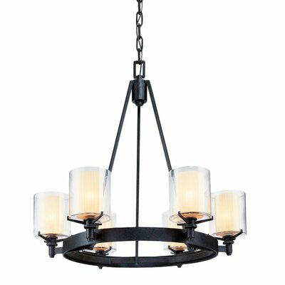 Bevill 6-Light Candle-Style Chandelier
