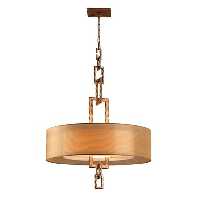Karissa 4-Light Pendant Bulb Type: Fluorescent