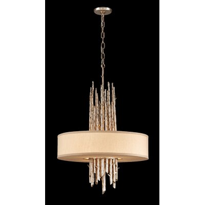 Arcola 4-Light Pendant Bulb Type: Fluorescent
