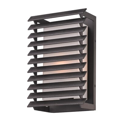 Troy Lighting Shutters 1 Light Outdoor Wall Light - Size: Small, Bulb Type: 60W Incandescent at Sears.com